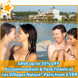 Les Villages Nature® Paris: Save up to 35% off* Accommodation & Disney® Park Tickets
