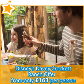 Disneys Davy Crockett from £163pp