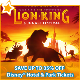 Save up to 35% off* Disney® Hotel & Park Tickets