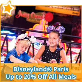 Disneyland® Paris - Up to 20% Off All Meals*