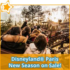 Disneyland® Paris New Season on Sale!*