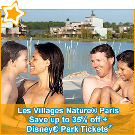 Save up to 35% off* accommodation & Disney® Park Tickets*