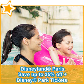 Save up to 35% off* your Disney® Hotel & Park Tickets*