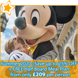 Summer 2020 : Save up to 25% + FREE Half Board Meal Plan from £209
