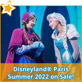 Disneyland® Paris Summer 2022 on sale!*