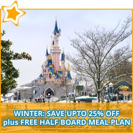 disneyland paris winter offers