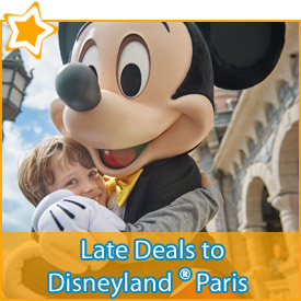 Late Deals to Disneyland Paris