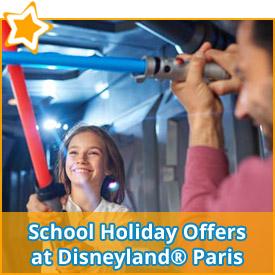 School Holiday Offers at Disneyland® Paris*