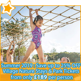 Les Villages Nature Paris: Save up to 25% OFF* Your Stay & Park Tickets from £189