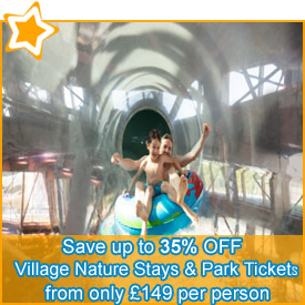 Save up to 35% off* Village Nature Stays & Disney® Park Tickets
