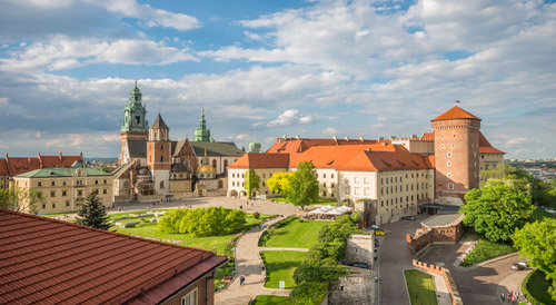 4* Krakow Break with Onsite Spa & Breakfast Included