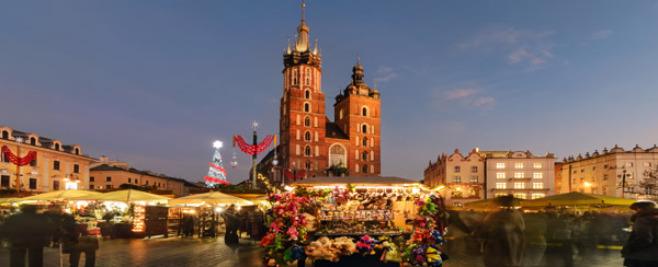 Krakow 4-Star Christmas Market Break
