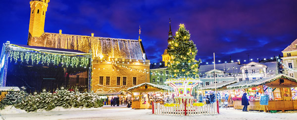 Tallinn 4-Star Christmas Market Break