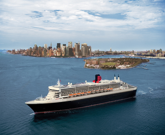 £969 Classic Cunard New York Shopping