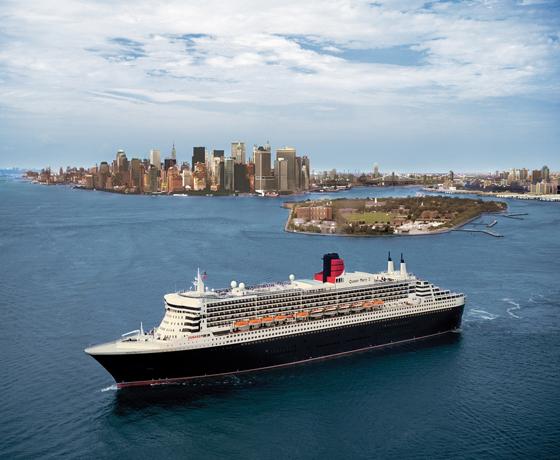 £999 Classic Cunard New York Shopping