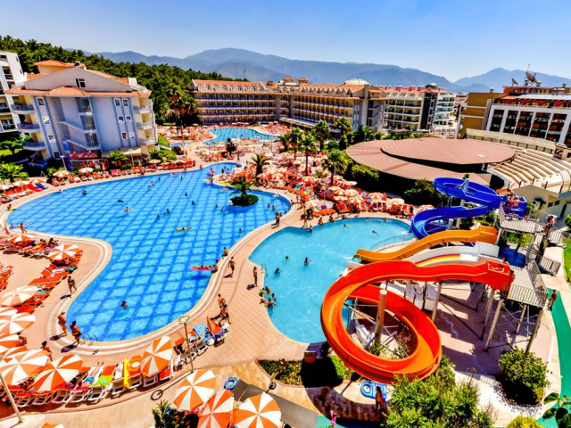 5* Turkey Award Winning All Inclusive w/ Waterslides & Spa