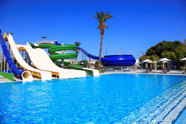 4* Rhodes All Inclusive Beach Week w/ Waterpark