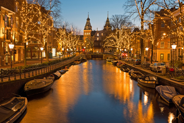 3* Xmas Market Break to Amsterdam w/ Low Deposits