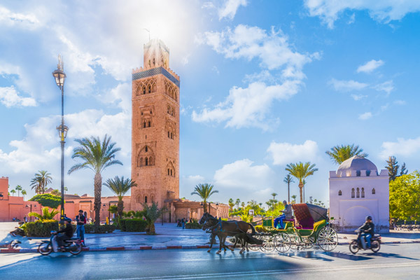 3* Relaxing Break to Marrakech with Breakfast Included