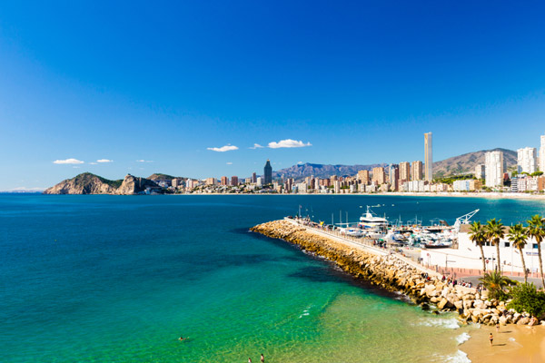 3* Benidorm Half Board with Fantastic Central Location
