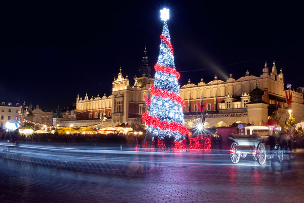 4* Xmas Market Break to Krakow w/ Spa Facilities