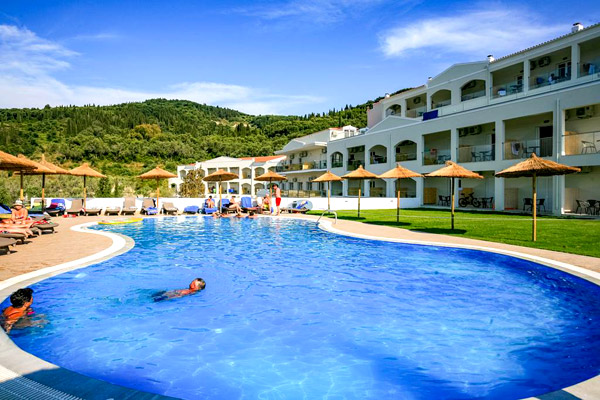 4* Corfu All Inclusive Family Escape By the Beach