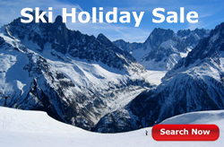 ski holiday sale